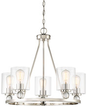 Minka-Lavery 3075-613 - 5 Light Chandelier