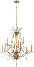 Minka-Lavery 4449-582 - 9 Light Chandelier