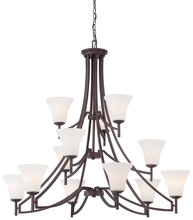 Minka-Lavery 4938-284 - 12 Light Chandelier