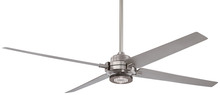 "Minka-Aire F726-BN/SL - Spectre 60"" - Brushed Nickel/Silver"