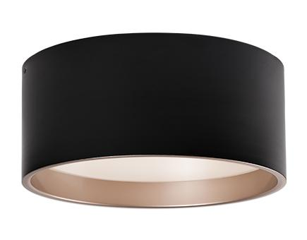 Immaculate Designed Two Toned Round Led Flush Mount