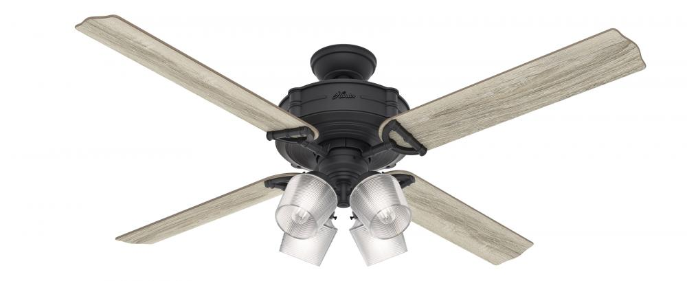 "60"" Ceiling Fan with Light with Integrated Control System - Handheld"